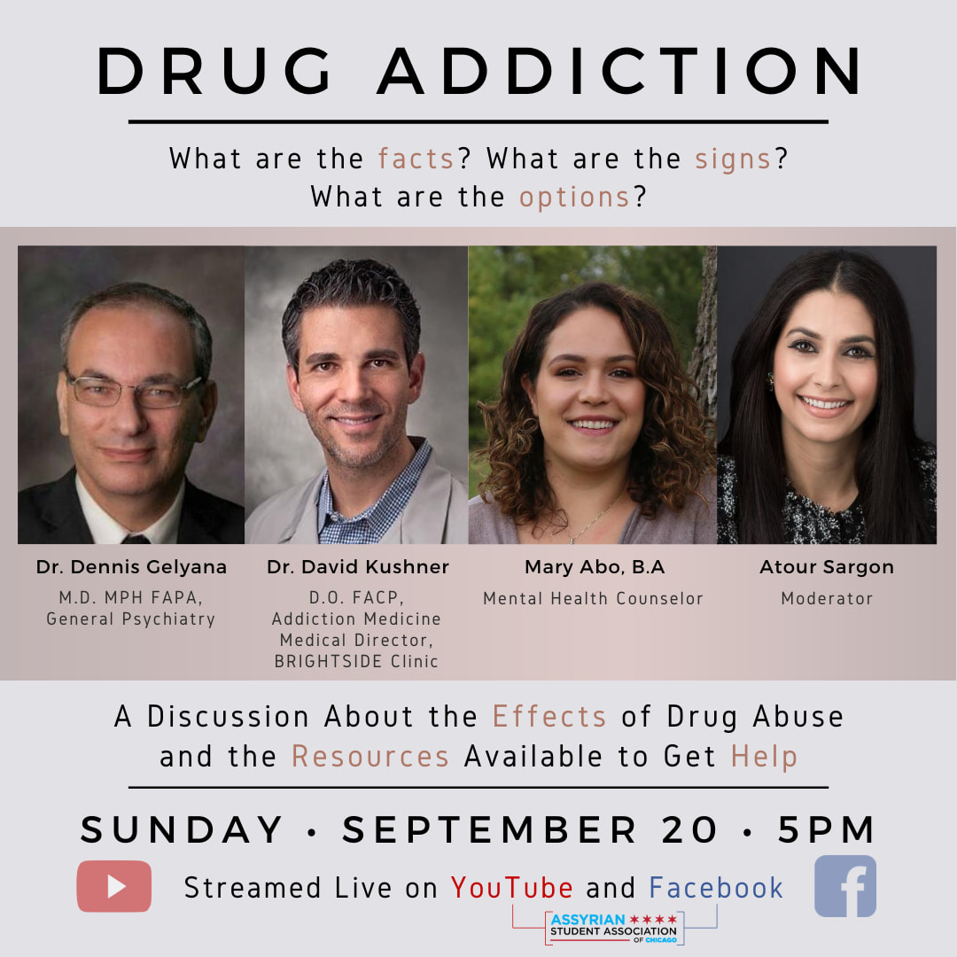 ASAChi Drug Addition and Abuse Event – 9.20.2020
