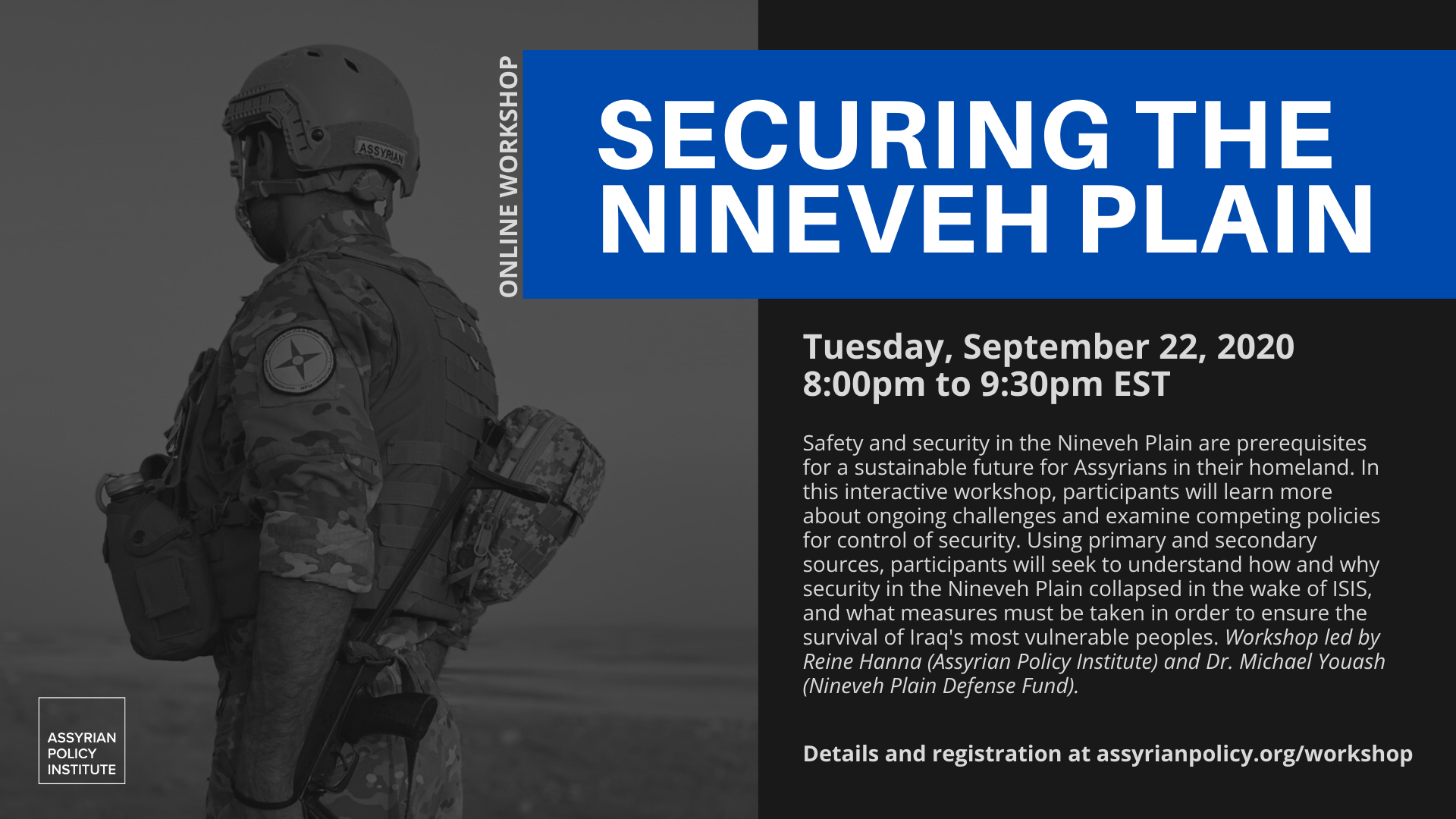 Securing the Nineven Plains – 9.22.2020